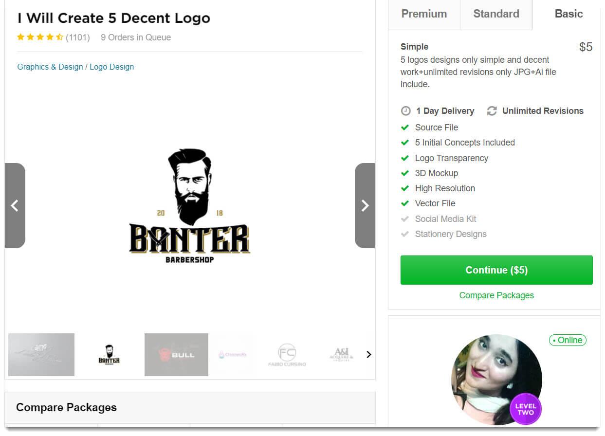 Hướng dẫn sử dụng dịch vụ và làm freelancer với Fiverr