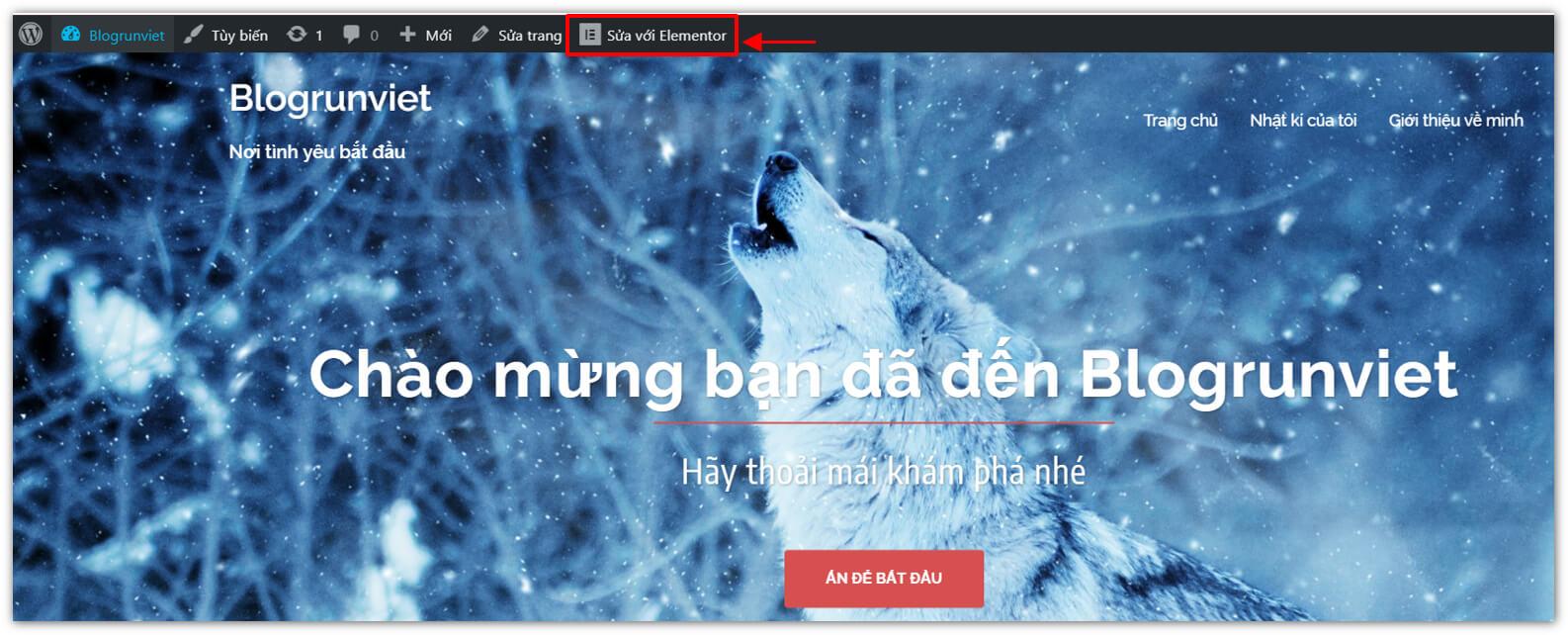 Cách thiết kế trang chủ trong WordPress